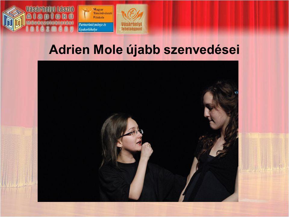 Adrien Mole újabb szenvedései