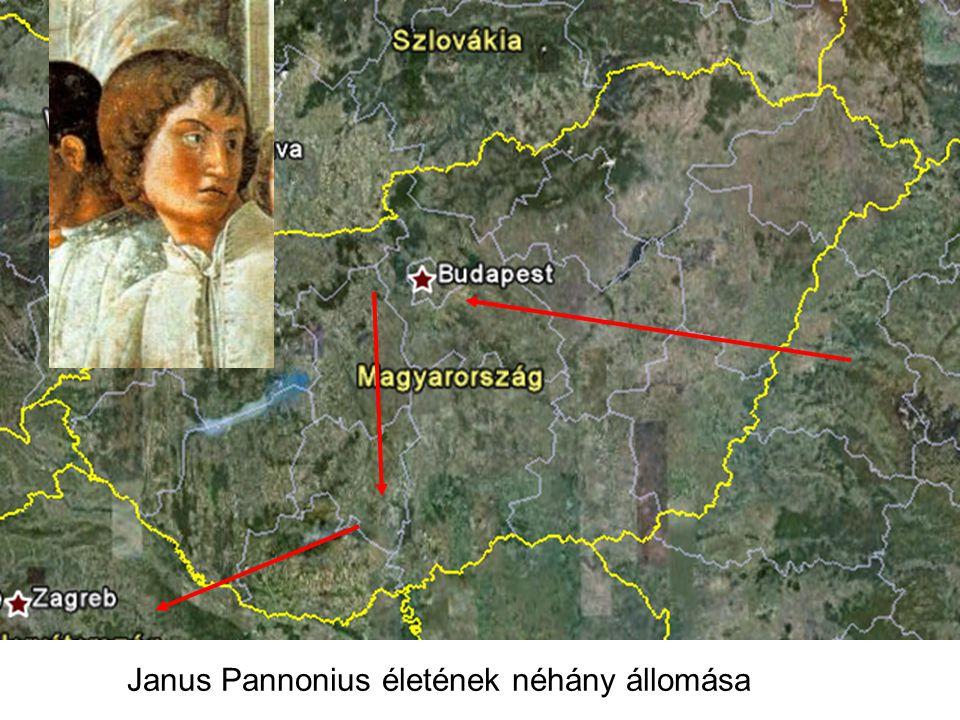 Janus Pannonius életének néhány állomása