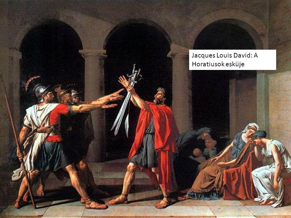 Jacques Louis David: A Horatiusok esküje