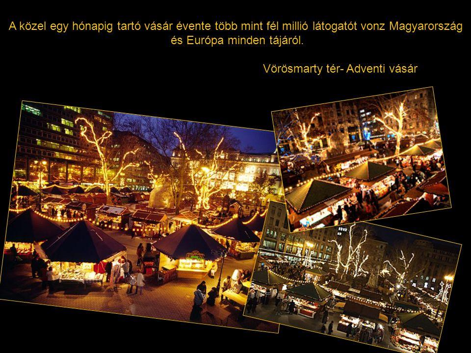 A közel egy hónapig tartó vásár évente több mint fél millió látogatót vonz Magyarország és Európa minden tájáról.