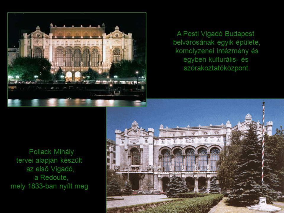 A Pesti Vigadó Budapest belvárosának egyik épülete, komolyzenei intézmény és egyben kulturális- és szórakoztatóközpont.