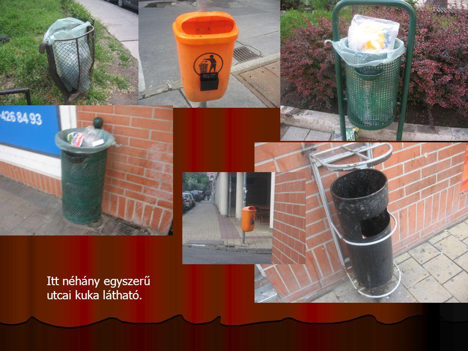 Ezen a képen az látható, hogy a lakásunkhoz közeli vegyesboltban is szelektíven gyűjtik a hulladékot.