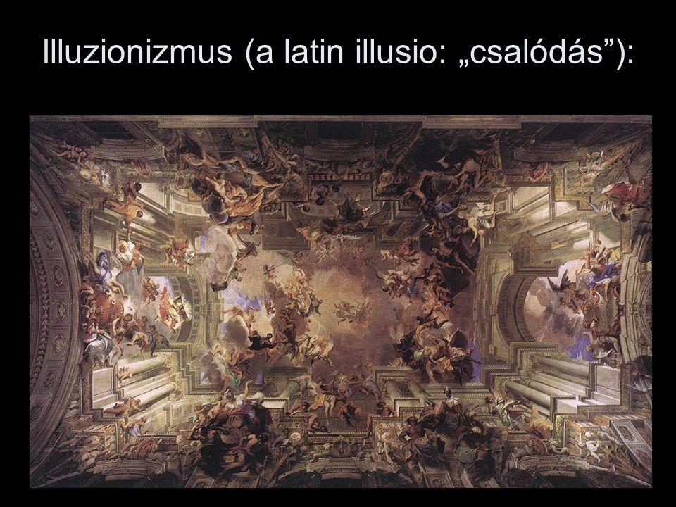 """Illuzionizmus (a latin illusio: """"csalódás""""):"""