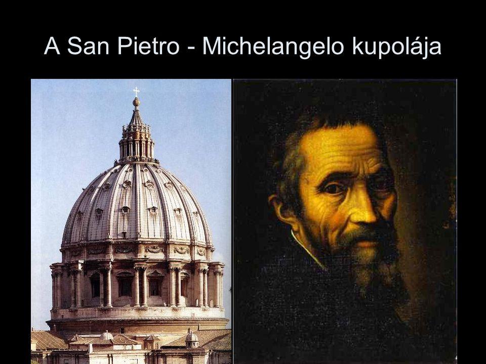 A San Pietro - Michelangelo kupolája