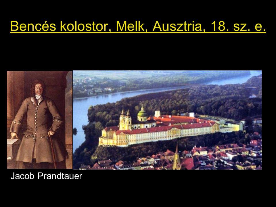 Bencés kolostor, Melk, Ausztria, 18. sz. e. Jacob Prandtauer