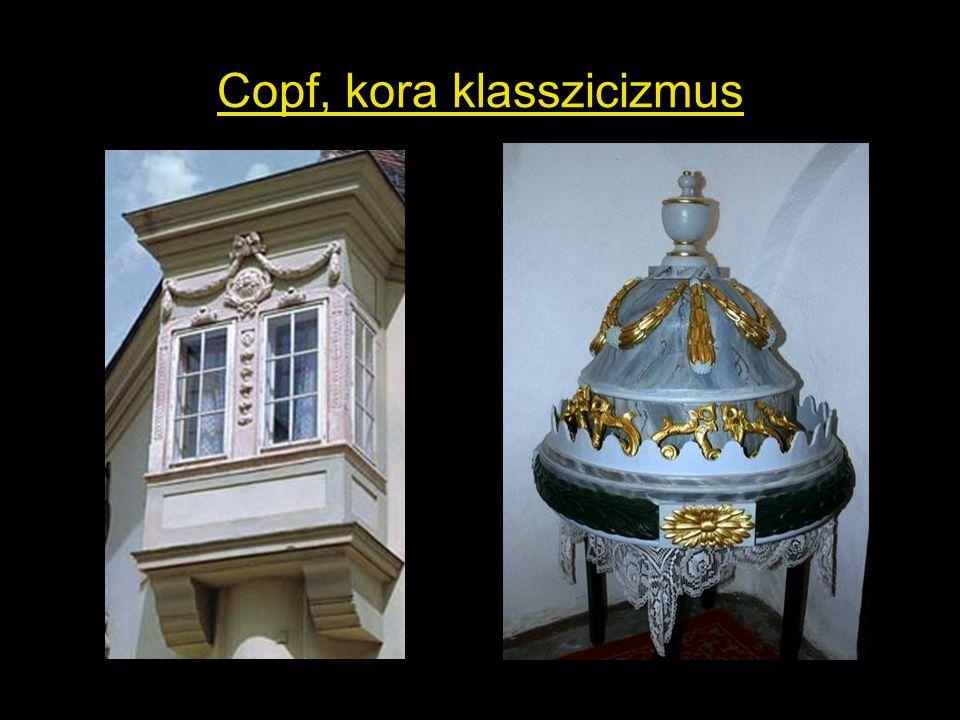 Copf, kora klasszicizmus