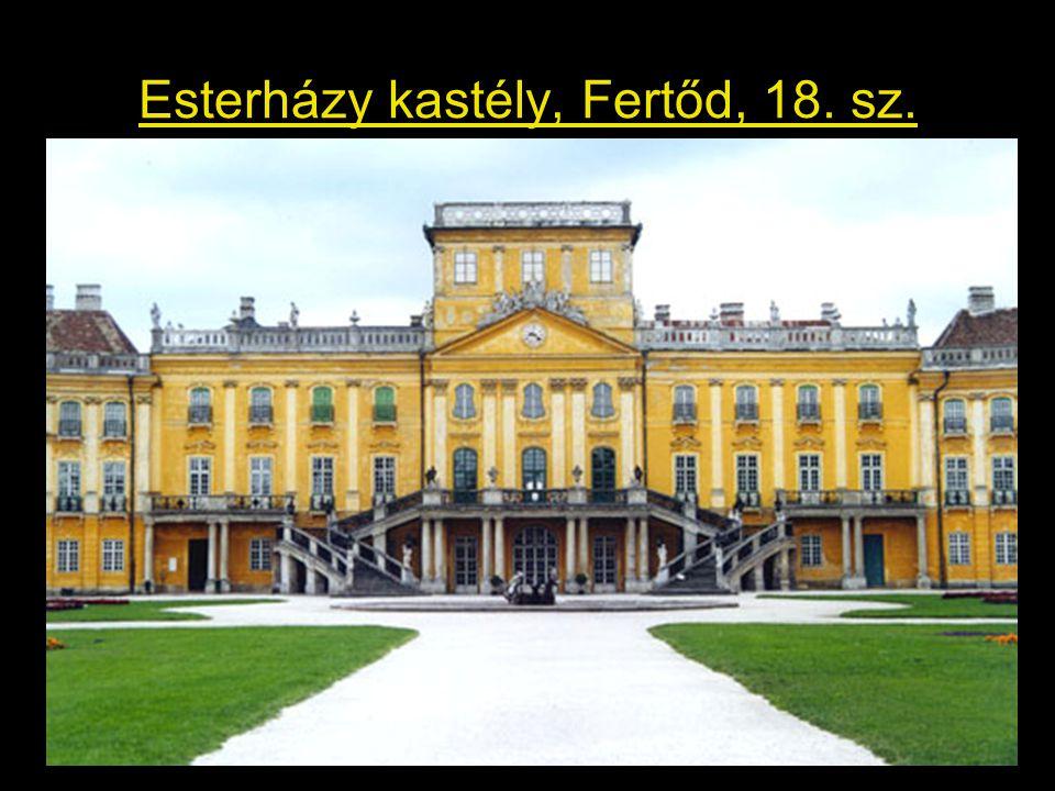 Esterházy kastély, Fertőd, 18. sz.