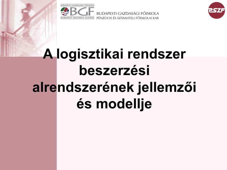 LOGISZTIKA A logisztika anyagok,termékek, információk, személyek, energia rendszereken belüli és közötti áramlásának tervezése, szervezése, irányítása, ellenőrzése A logisztika a görög logos szóból származik, jelentése értelem, számítás, ok.