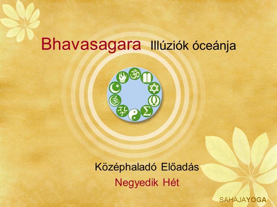 SAHAJAYOGA Bhavasagara Tudás A kagylóval kelti, az ősi, alapvető hangot, az OHM-t, a diszkosszal elpusztítja tanítványai azon kötődéseit, melyek a karmából származnak