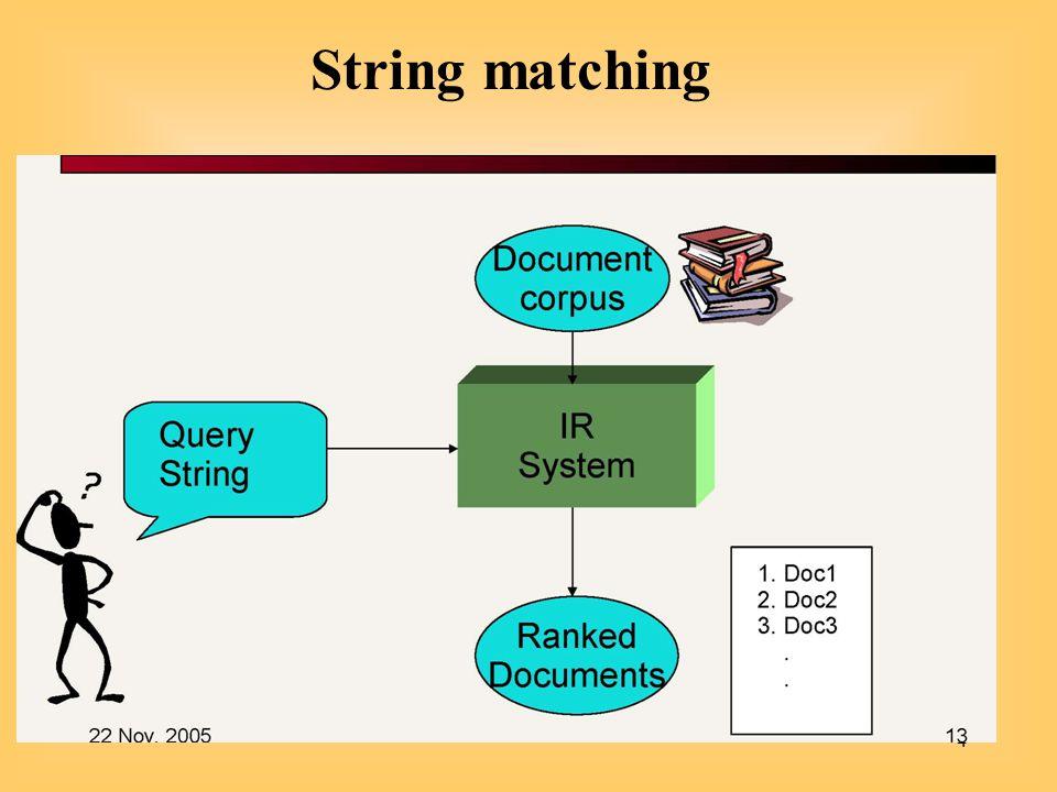 4 String matching