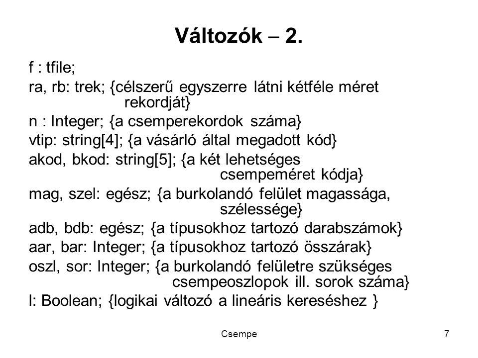 Csempe7 Változók  2.
