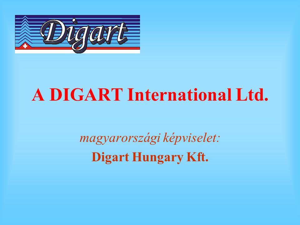 A DIGART International Ltd. magyarországi képviselet: Digart Hungary Kft.