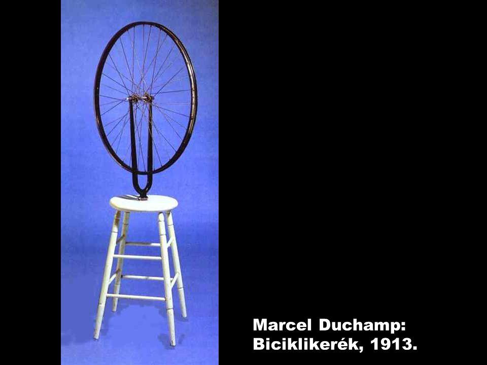 Marcel Duchamp: Biciklikerék, 1913.