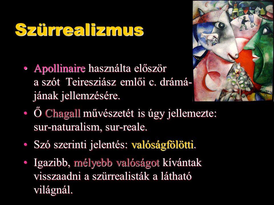 Apollinaire használta először a szót Teiresziász emlői c.
