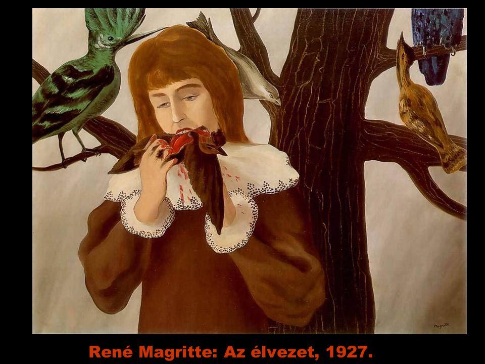 René Magritte: Az élvezet, 1927.