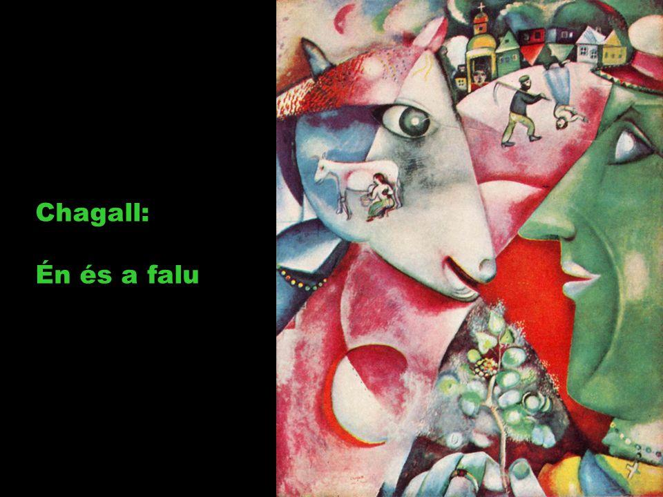 Chagall: Én és a falu