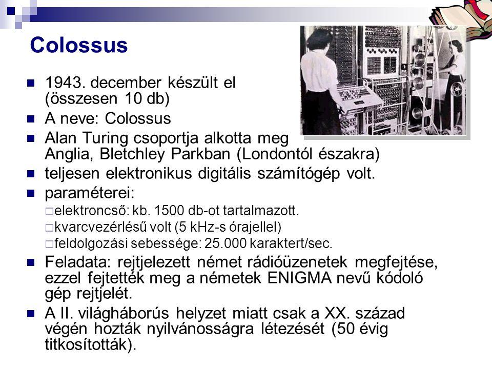 Bóta Laca Colossus 1943.