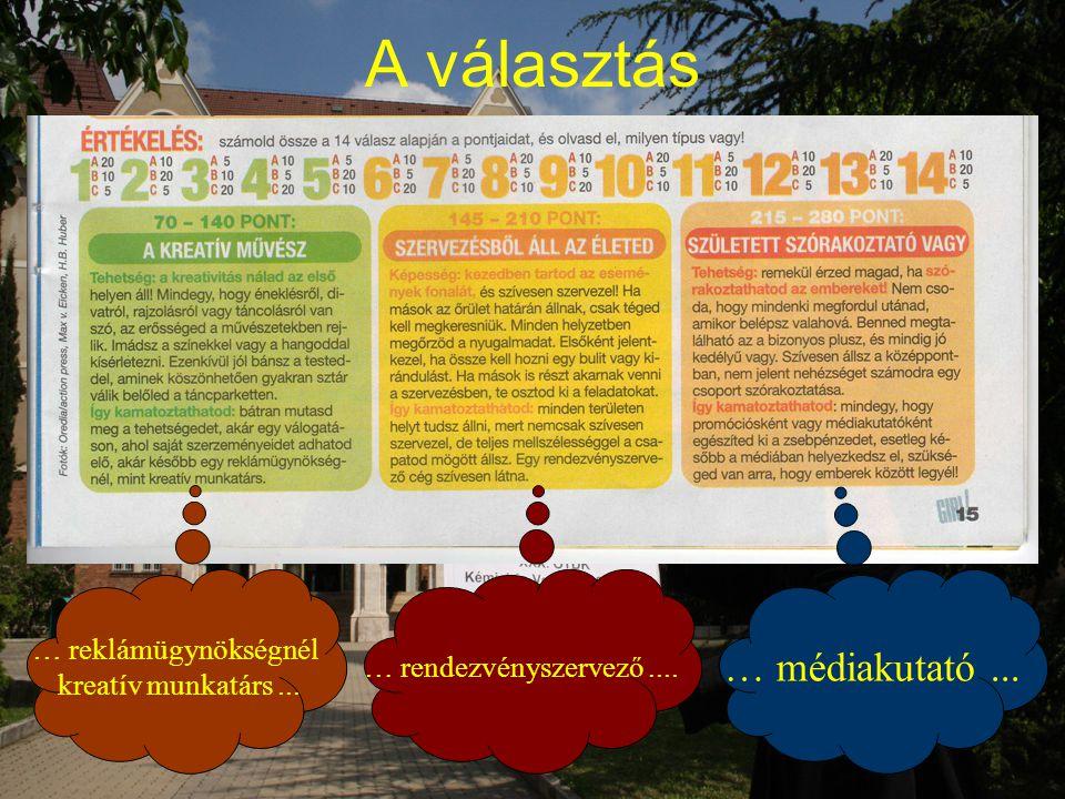 A hallgatói tudásszintre vonatkozó elméleti és kísérleti adatok (kötelező és nem kötelező tevékenységek összehasonlítása)