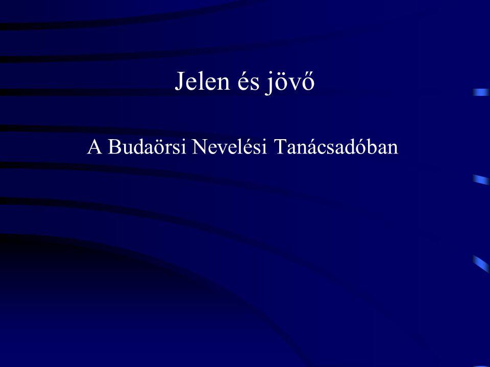 Jelen és jövő A Budaörsi Nevelési Tanácsadóban