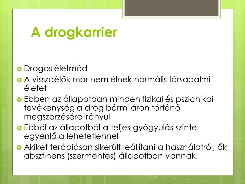 A drogkarrier 1.