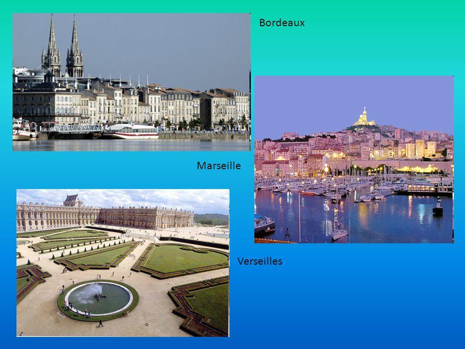 Bordeaux Marseille Verseilles
