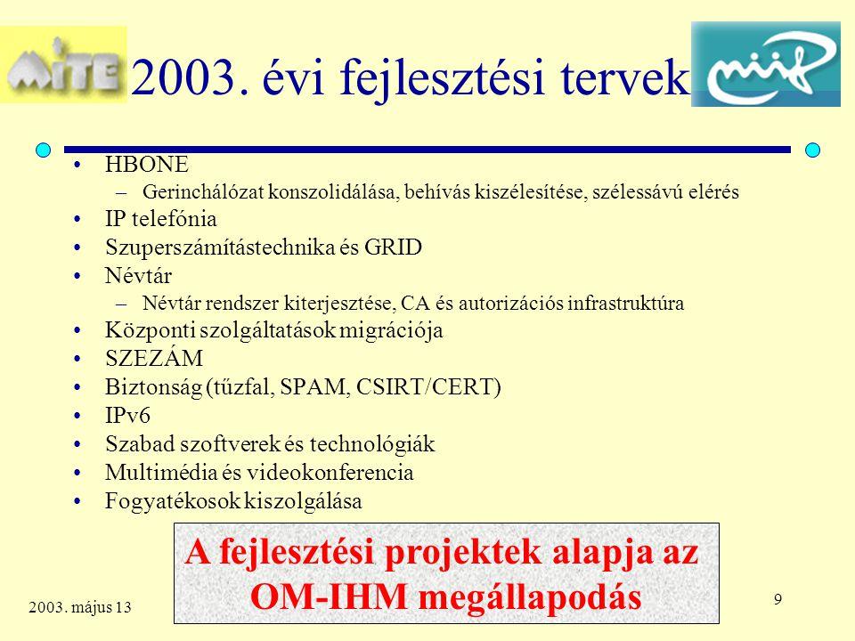 10 2003.