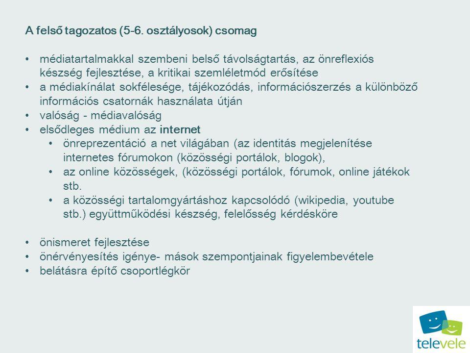 A felső tagozatos (5-6.