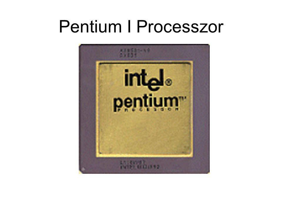 Pentium I Processzor