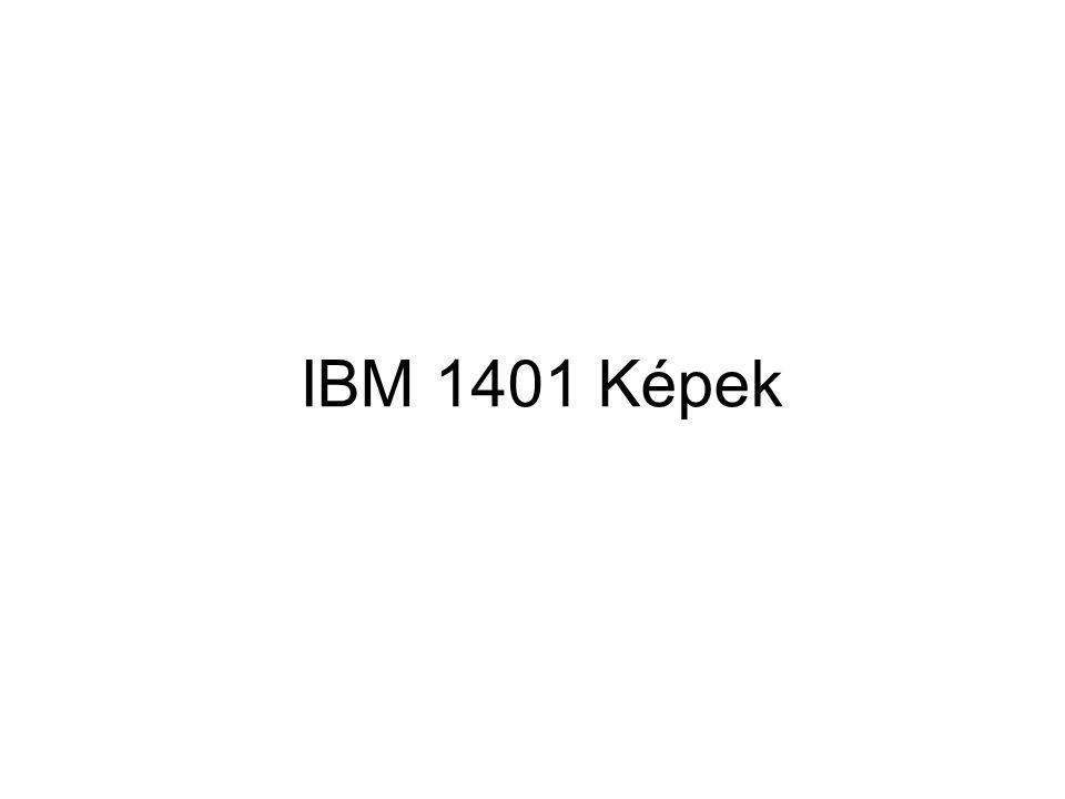 IBM 1401 Képek