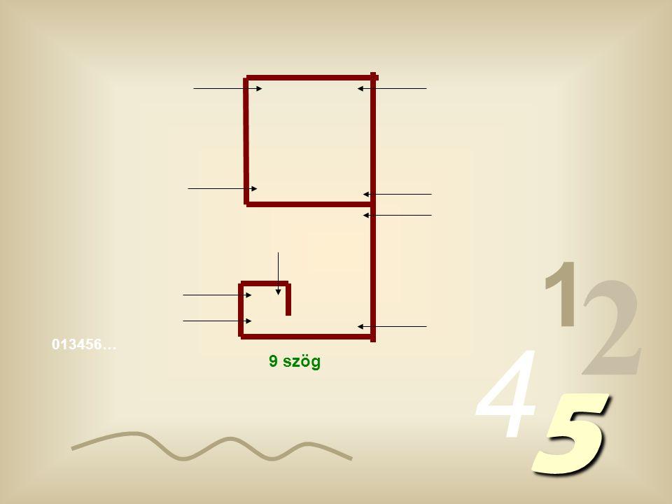 1 2 4 5 5 szög 6 szög 7 szög 8 szög
