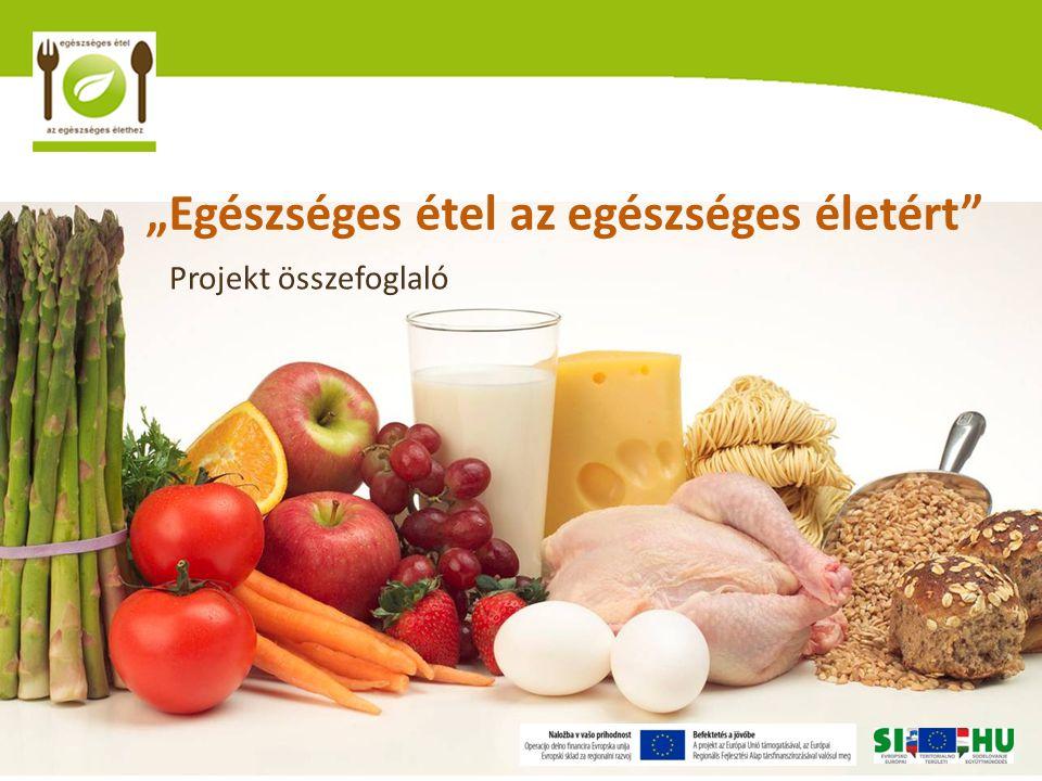 """""""Egészséges étel az egészséges életért Projekt összefoglaló"""