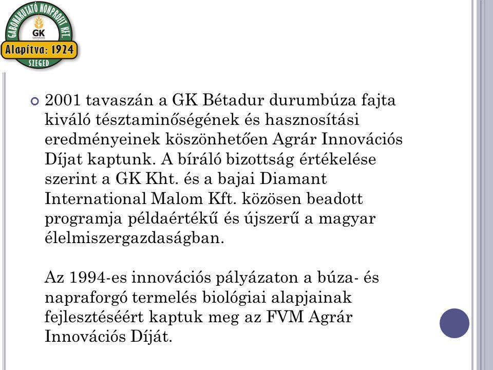 Növénynemesítő Kutatóállomás Táplánszentkereszt Rumi u.