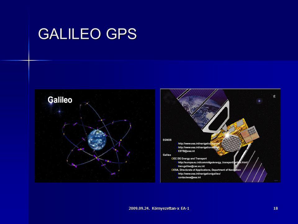 2009.09.24. Környezettan-x EA-118 GALILEO GPS