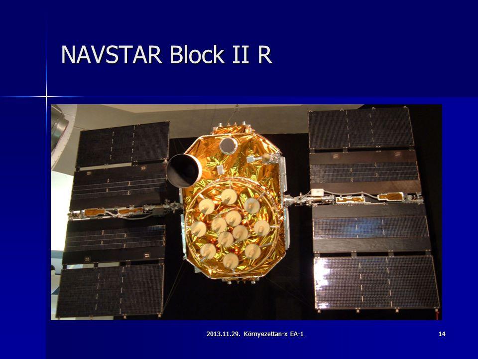 2013.11.29. Környezettan-x EA-114 NAVSTAR Block II R