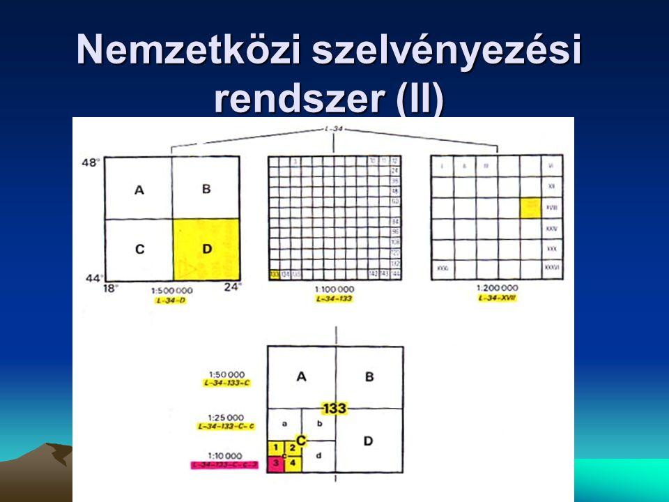 Nemzetközi szelvényezési rendszer (I)