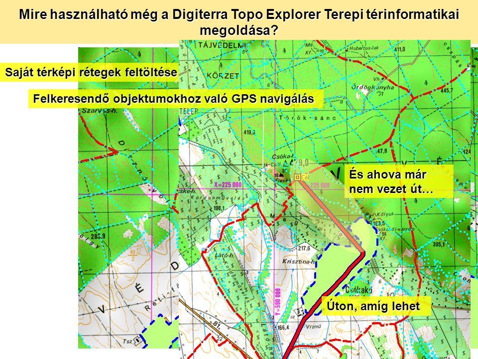 Milyen további előnyökkel jár a terepi térinformatika felhasználói szemmel.