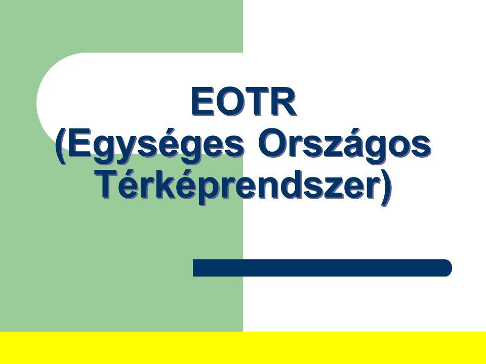 EOTR (Egységes Országos Térképrendszer)