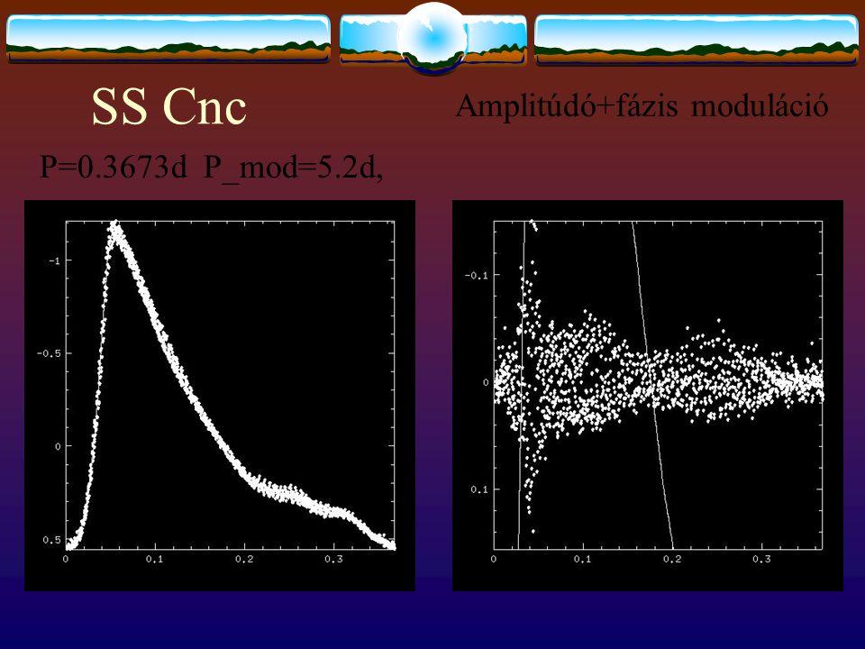 SS Cnc P=0.3673d P_mod=5.2d, Amplitúdó+fázis moduláció