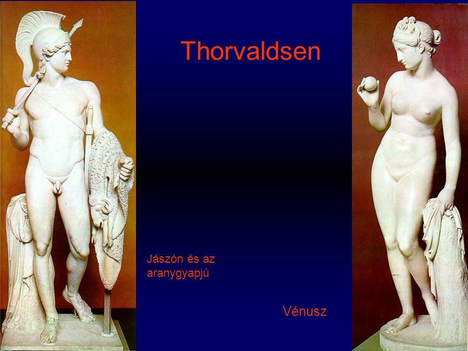 Thorvaldsen Jászón és az aranygyapjú Vénusz