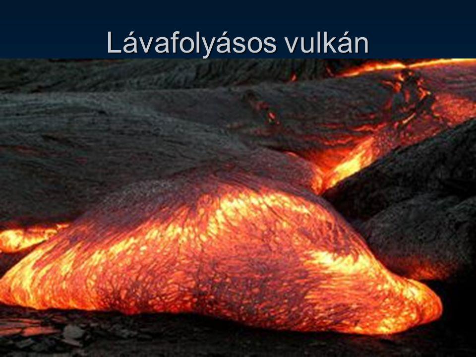 Lávafolyásos vulkán