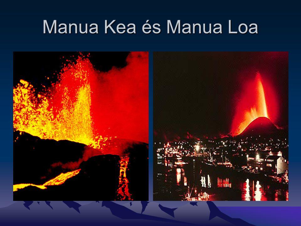 Manua Kea és Manua Loa
