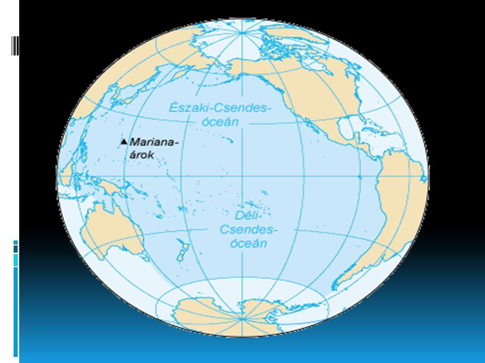 Csendes-óceán  A Csendes-óceán (a Magellán által adott Mare Pacificum, csendes tenger elnevezésből) a Föld legnagyobb óceánja.