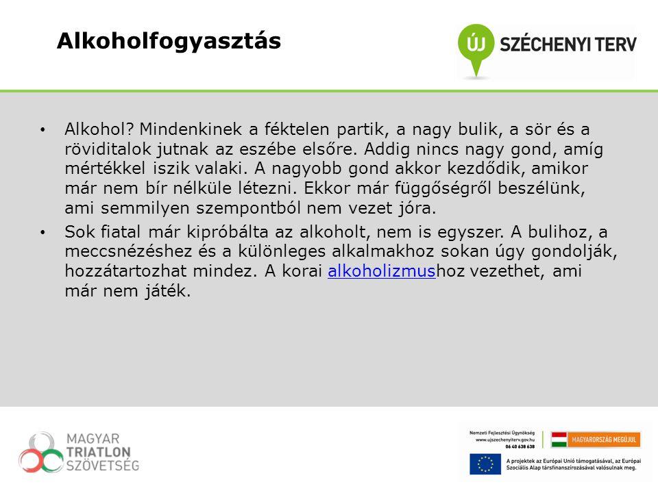 A magyarországi rossz egészségi mutatók okai közül, az alkohol második helyet foglalja el a dohányzás után.