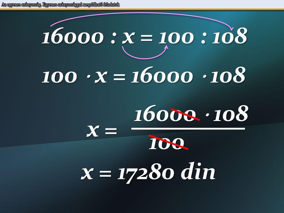 48000-40000=8000 din 100% x din 94 % 8000 : x = 100 : 94 24.