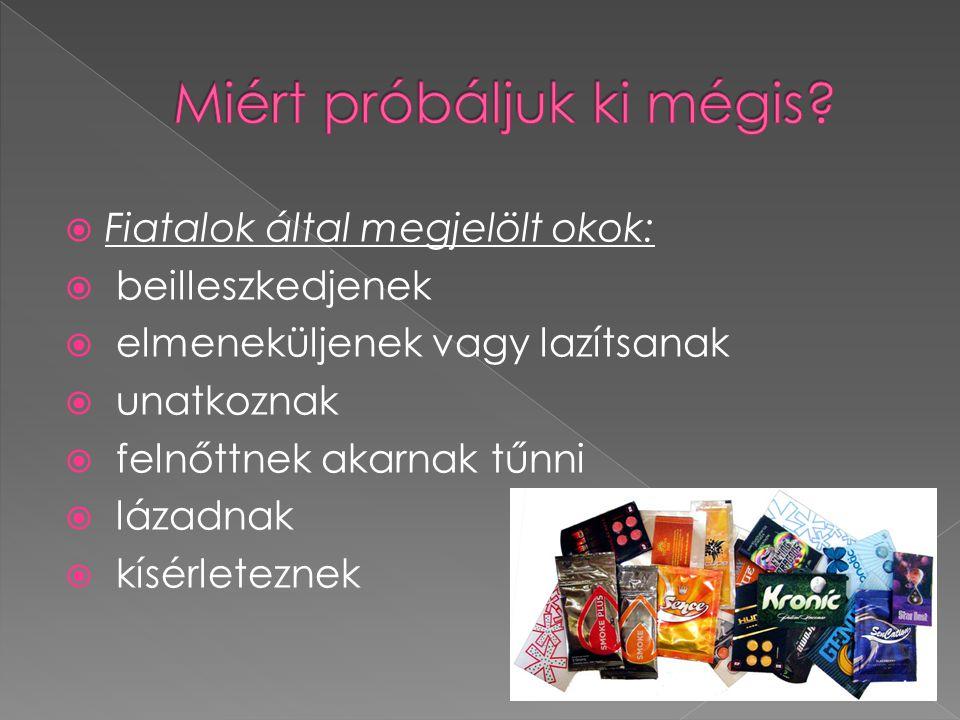  Kábítószerek 1.