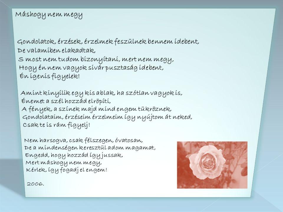 """vége Készítette: Kormányos Ildikó Csilla Zene: Richard Cleyderman - Érzés """"szepnapot 2010.07.10."""