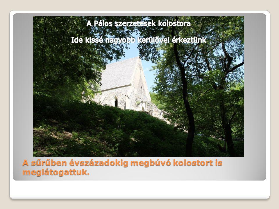A sűrűben évszázadokig megbúvó kolostort is meglátogattuk.