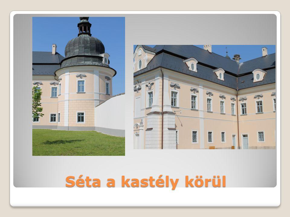 Séta a kastély körül