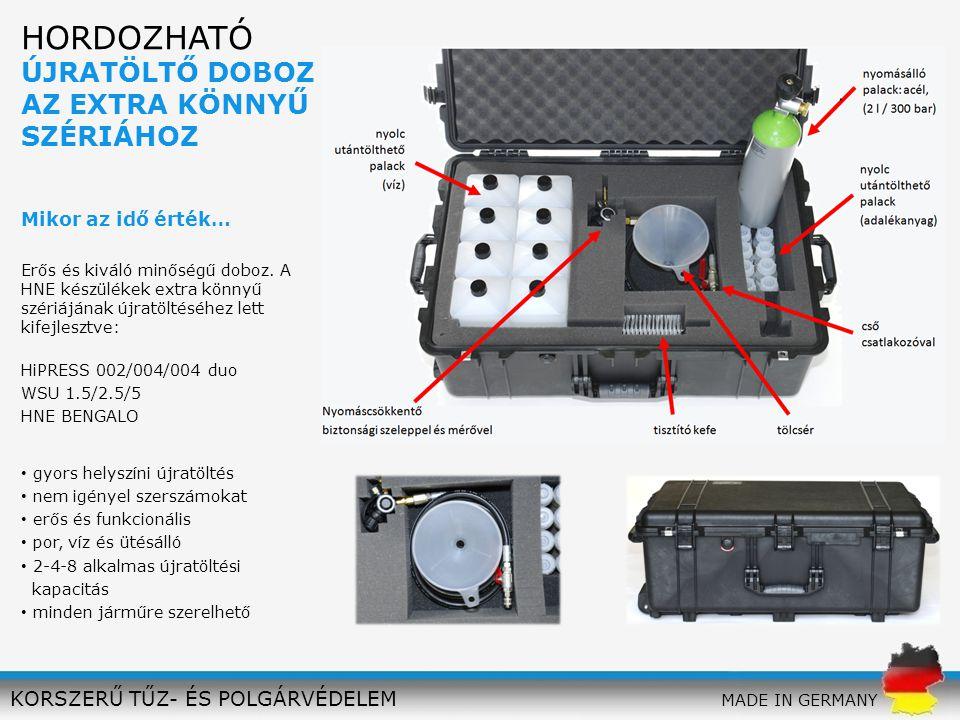 gyors helyszíni újratöltés nem igényel szerszámokat erős és funkcionális por, víz és ütésálló 2-4-8 alkalmas újratöltési kapacitás minden járműre szer