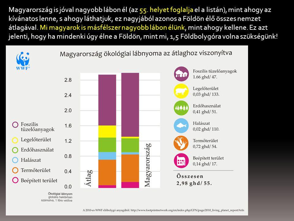 Magyarország is jóval nagyobb lábon él (az 55.